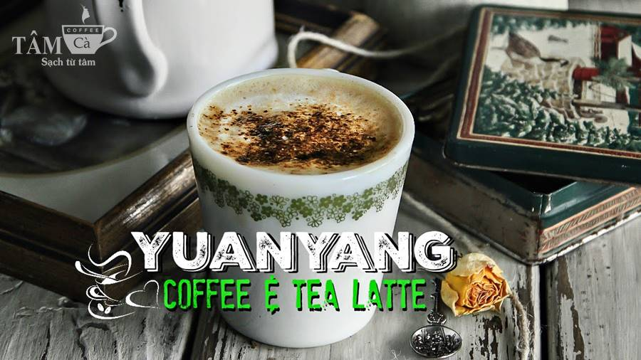yuanyang coffee - ca phe hong kong